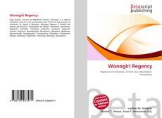 Bookcover of Wonogiri Regency