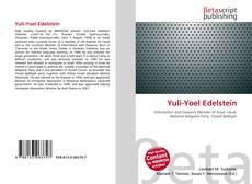 Portada del libro de Yuli-Yoel Edelstein