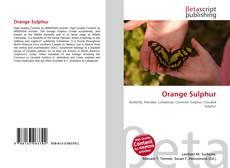 Buchcover von Orange Sulphur