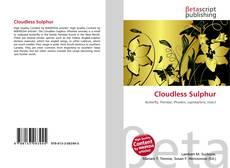 Buchcover von Cloudless Sulphur