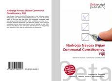 Bookcover of Nadroga Navosa (Fijian Communal Constituency, Fiji)