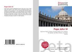 Buchcover von Pope John VI