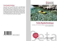 Bookcover of Yulia Ryabchinskaya