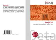 Bookcover of Ba-djedet