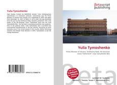 Bookcover of Yulia Tymoshenko
