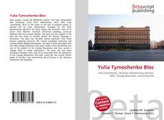 Buchcover von Yulia Tymoshenko Bloc