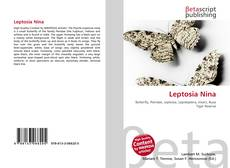 Bookcover of Leptosia Nina