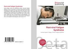 Couverture de Post-viral Fatigue Syndrome