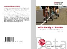 Capa do livro de Yuliet Rodríguez Jiménez