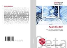 Portada del libro de Apple Modem
