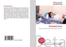 Bookcover of Prenatal Care