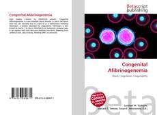 Bookcover of Congenital Afibrinogenemia
