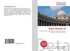 Buchcover von Pope Clement III