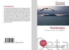 Capa do livro de Preondactylus