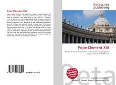 Buchcover von Pope Clement XIII