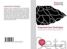 Couverture de Prepared-Core Technique