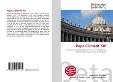 Buchcover von Pope Clement XIV