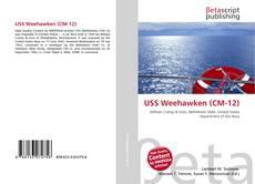 Capa do livro de USS Weehawken (CM-12)