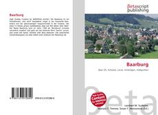 Copertina di Baarburg
