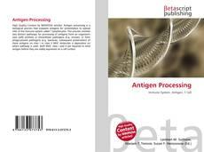 Antigen Processing的封面