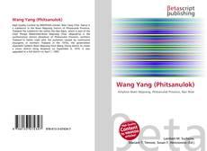 Wang Yang (Phitsanulok) kitap kapağı