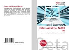 Couverture de Color LaserWriter 12/600 PS