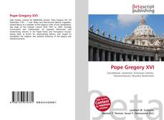 Bookcover of Pope Gregory XVI
