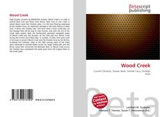 Bookcover of Wood Creek