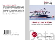 Buchcover von USS Whetstone (LSD-27)