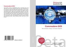 Bookcover of Commodore DOS