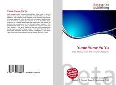 Yume Yume Yu Yu的封面