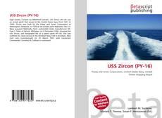 Bookcover of USS Zircon (PY-16)