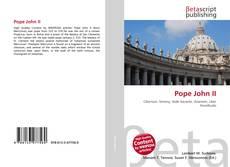 Couverture de Pope John II