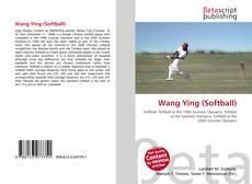 Bookcover of Wang Ying (Softball)