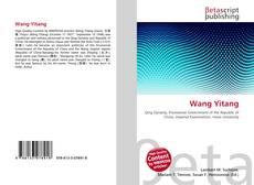 Capa do livro de Wang Yitang