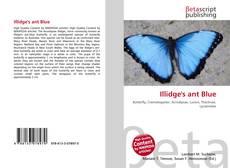 Обложка Illidge's ant Blue