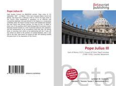 Couverture de Pope Julius III