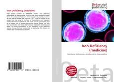 Portada del libro de Iron Deficiency (medicine)