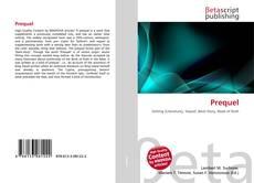 Bookcover of Prequel