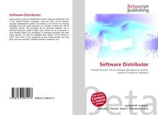 Bookcover of Software Distributor