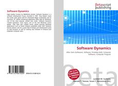 Bookcover of Software Dynamics