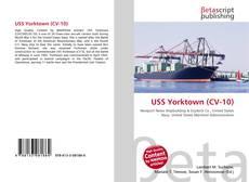 USS Yorktown (CV-10)的封面