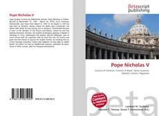 Pope Nicholas V kitap kapağı