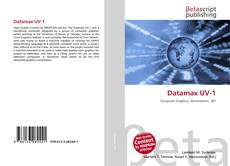 Bookcover of Datamax UV-1