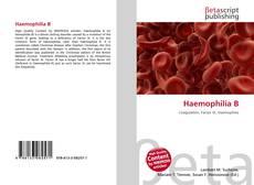 Bookcover of Haemophilia B