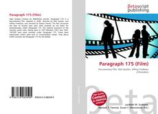 Bookcover of Paragraph 175 (Film)