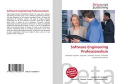 Copertina di Software Engineering Professionalism