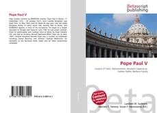 Couverture de Pope Paul V