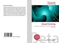 Bookcover of Wood Finishing