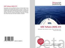 Bookcover of USS Yahara (AOG-37)